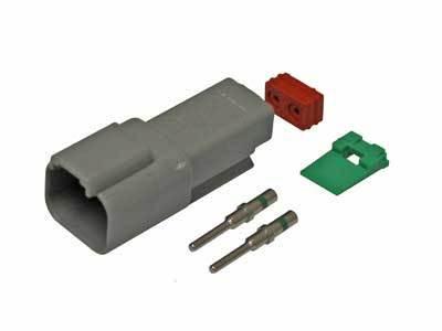 Deutsch DT-2 pin naarasliitin