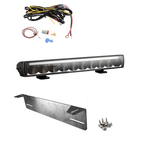 LED-lisävalopaketti Arctic Bright BL 100W Slim LED lisävalo parkkivalolla