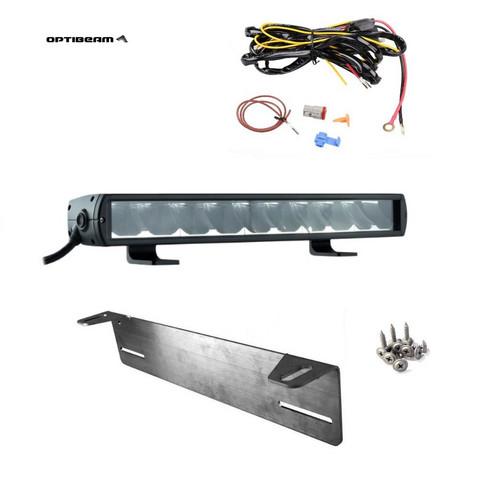 LED-lisävalopaketti 100W Optibeam Pioneer 600