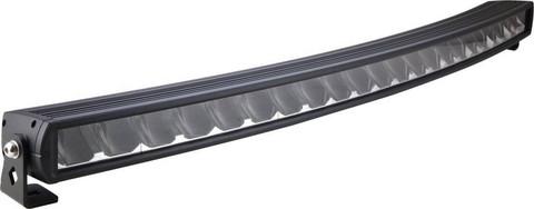 LED-lisävalopaneeli K27 220w, 9-36V, Kaareva