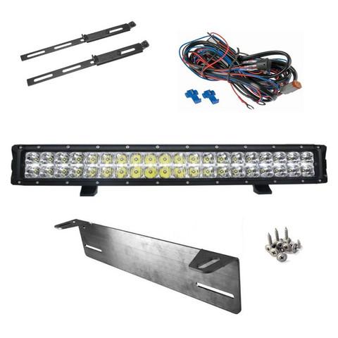LED-lisävalopaketti Arctic Bright HL 120W LED lisävalopaneeli lämmitettävällä linssillä
