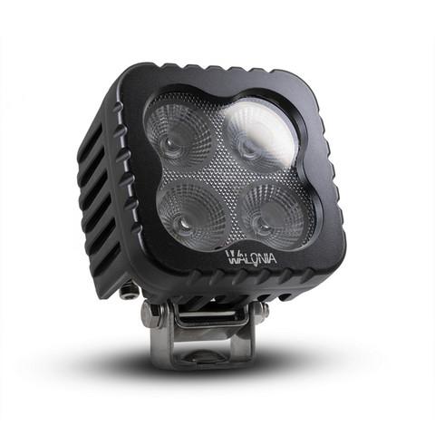 Walonia LED-työvalo, 80w, 12-30V, Lasin lämmityksellä!