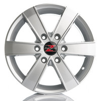 Barzetta Toro Silver Pakettiautoihin 7x17 jako: 6x130 ET: 55