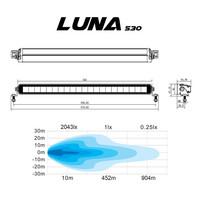 LED-lisävalopaneeli Walonia Luna 530 105W