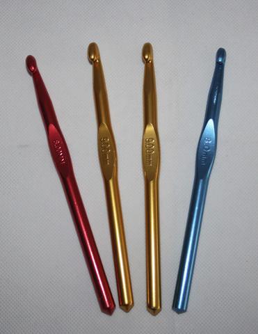 Metalliset virkkuukoukut 3-10mm