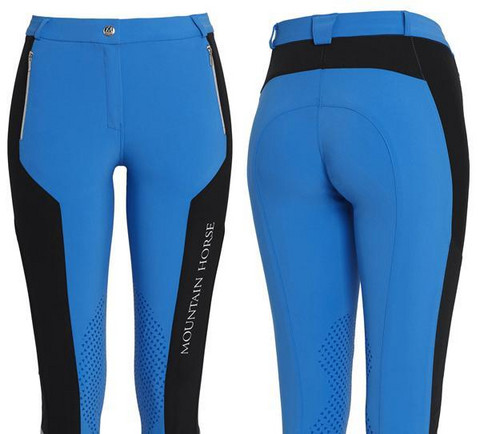 Melanie Tech Breeches, tropical bue