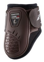 Zandona carbon air junior fetlock, ruskea