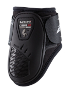 Zandona carbon air junior fetlock, musta