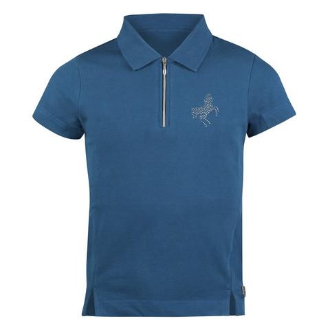 Lasten pikee paita, petroolin sininen