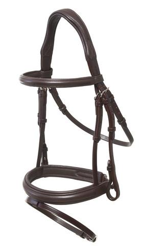Suitset Horse Comfort soft, ruskea