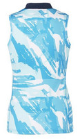 Breeze Tech Singlet, aqua blue