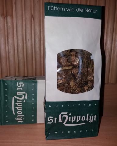 Näytepakkaus rehuista St.Hippolyt