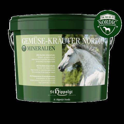 Kivennäinen Gemuse-Krauter-Mineralien Nordic 10kg