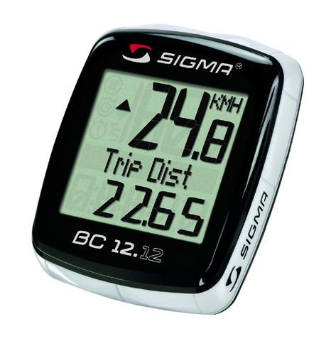 Sigma Pyöräilytietokone BC 12.12
