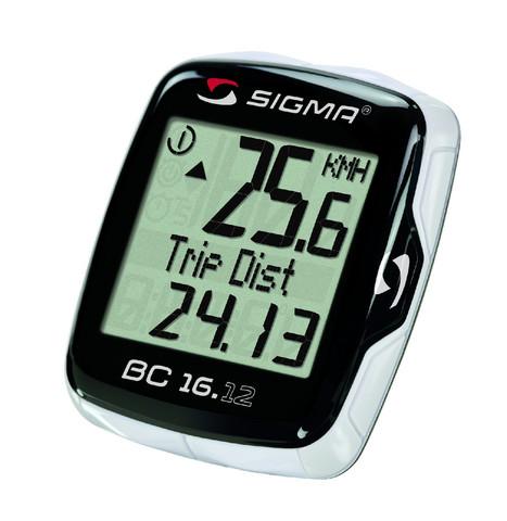 Sigma Pyöräilytietokone BC 16.12