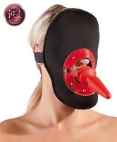 Maski suupalolla ja anaalitapilla