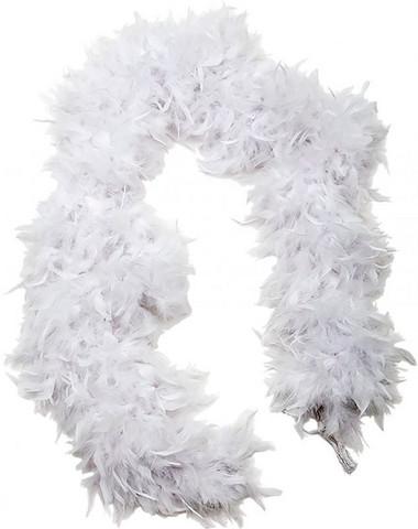 Höyhenpuuhka valkoinen