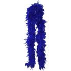 Höyhenpuuhka Royal blue - Sähäkkä sininen Boa