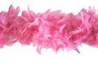 Höyhenpuuhka - Boa pinkki