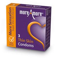 MoreAmore Thin Skin - Ohuen ohut kondomi
