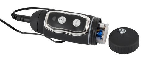 Silikooni vibraattori pyörivällä päällä