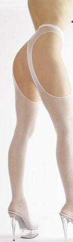 Avoverkkosukkahousut - Haaroista auki olevat sukkahousut