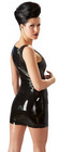 LateX  Kumi - Latex mekko pikkumusta
