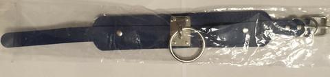 Kaulapanta - Pehmeää nahkaa kuninkaallisen sininen/hopea