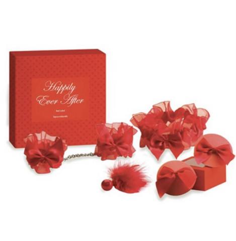 Lahjasetti punainen - Viettele villisti, kutittele ja kiusottele