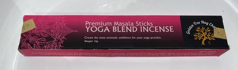 Golden Tree Nag Champa Yoga Masala Stick Yoga Jooga