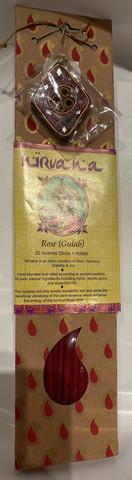 Nirvana incense rose - ruusun tuoksuinen suitsuke
