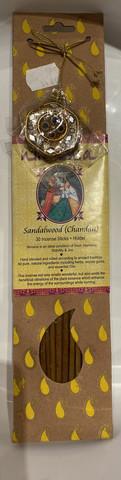 Nirvana incense sandelwood - santelipuun tuoksuinen suitsuke