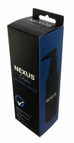 Nexus Slide pitkään luistoa antava liukuvoide joka sopii myös anaaliin