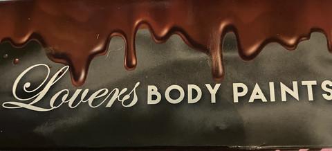 Lovers Vartalo mansikkasuklaamaali - Bodypaint vartalon maukastaja