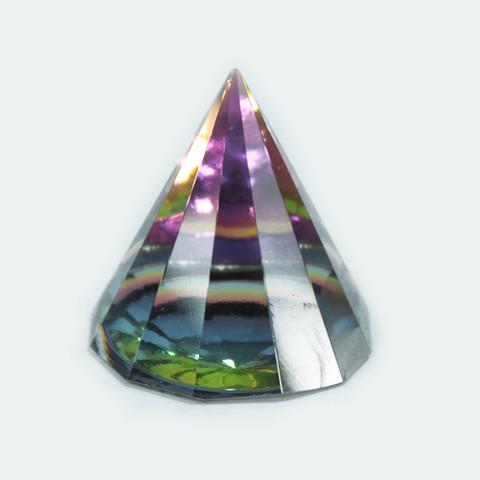 12 sivuinen maaginen pyramidi lasia korkeus 60 mm