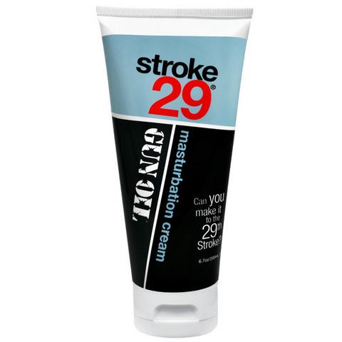 Stroke 29 Gun Oil voide ulospäintyöntyvän sukuelimen hyväilyyn