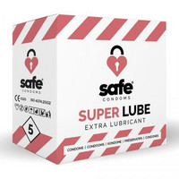 Safe - Condoms M with extra lube erityisen kosteat kondomit toimii