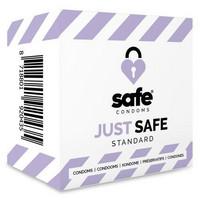 Safe - JUST SAFE silikoonilla kostutettu kondomi lisää nautintoa