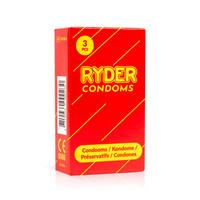 Ryder kondomi kaikenlaiseen seksiin edukas peruskumi