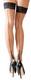StayUpSaumasukat -  Nylon sukat mustalla saumalla ja reunuspitsillä
