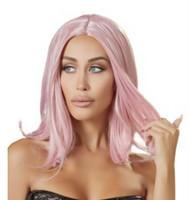 Peruukki - Pinkki polkkatukka Pipsa