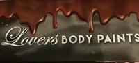 Lovers Vartalo tummasuklaamaali - Bodypaint vartalon maukastaja