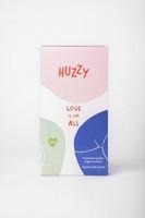 Huzzy - Vegaani kondomi rakkaus kuuluu kaikille iältään aikuisille