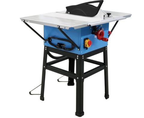 Pöytäsirkkeli jatkopöydillä 250mm 1800W