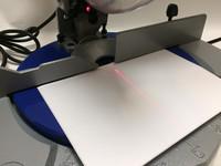 Katkaisujiirisaha laserilla