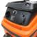 Hienopölynimuri suodattimen puhdistuksella ja käynnistys/pysäytysautomatiikalla