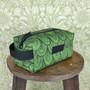 Krokotiili -toilettilaukku Boxi