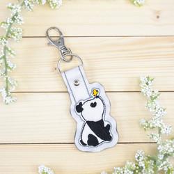Panda -heijastinkoru / avaimenperä