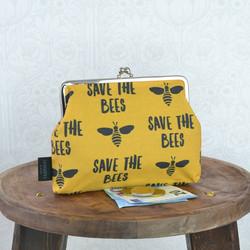 Save The Bees -iso kukkaro