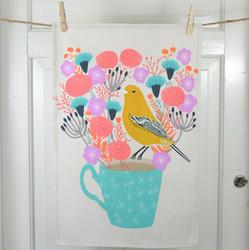 Lintunen -keittiöpyyhe